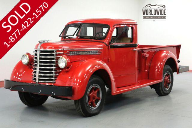 1949 DIAMOND T TRUCK 201. RESTORED. COLLECTOR. 2 OWNER CA TRUCK!