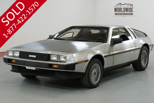 1983 DMC DELOREAN ONE FAMILY OWNED! TIME CAPSULE. LOW MILES!