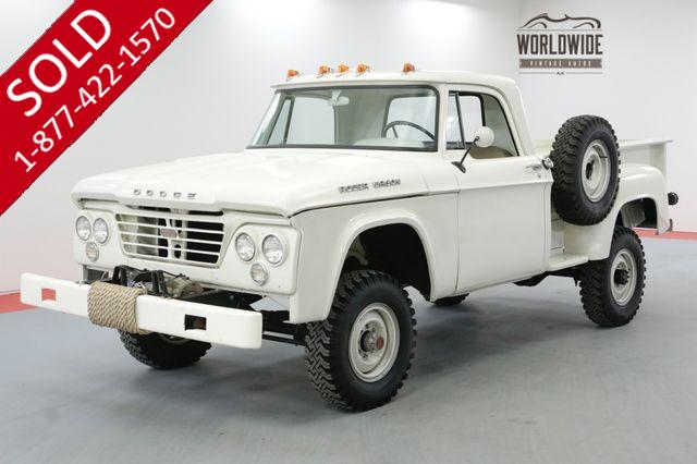 1964 DODGE POWER WAGON W200 4X4 $50K+ FRAME OFF RESTO V8 RARE