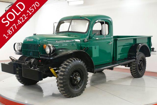 1957 DODGE  POWER WAGON WDX DRY TX TRUCK RARE DISC COLLECTOR GRADE