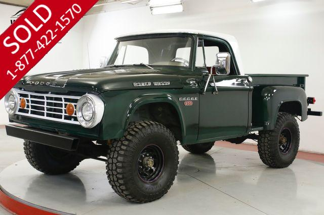 1967 DODGE  POWER WAGON  SHORTBOX 4X4 383 4SPD STROKER V8 MUST SEE