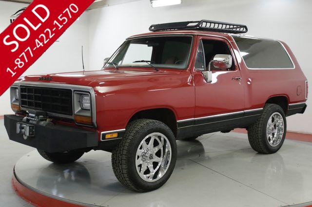 1985 DODGE RAMCHARGER ROYAL SE PACKAGE AC RESTORED CUSTOM WINCH