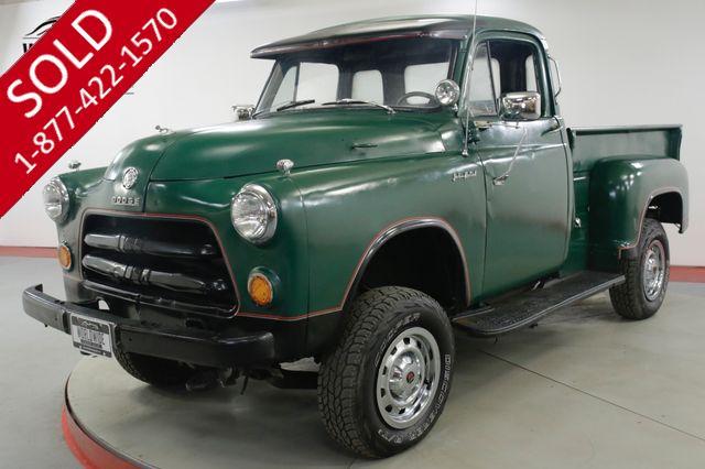 1954 DODGE  TRUCK 5 WINDOW 4x4 350 VORTEC V8 PS PB 600 MILES