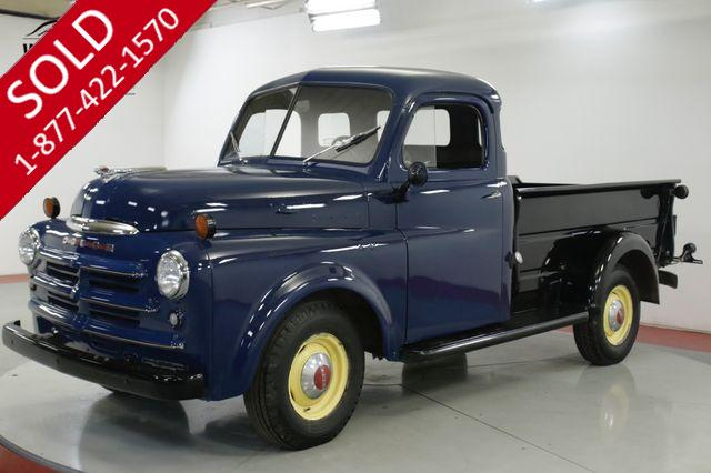 1950 DODGE TRUCK B2C PICKUP TRUCK RARE 5 WINDOW 56K ORIG. MILES