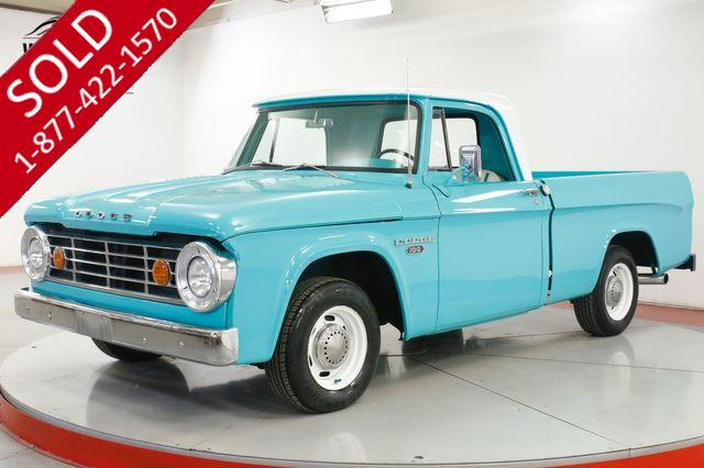 1965 DODGE  TRUCK D100 TRUCK 440 V8 SHORT BED PS PB RESTOMOD