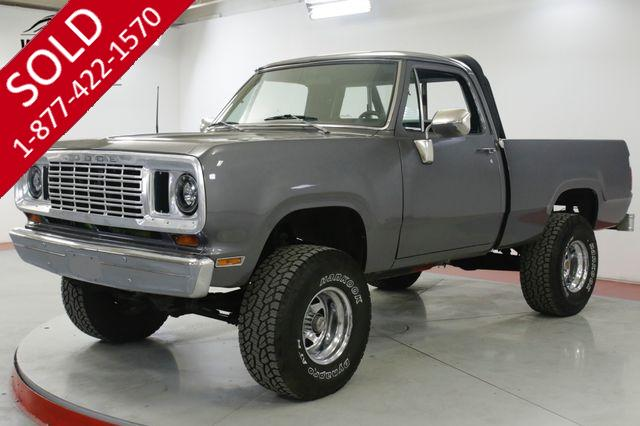 1974 DODGE  W100 W100 360 V8 4X4 PS PB PRE SMOG MUST SEE!