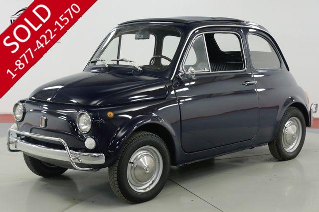 1971 FIAT 500L  RESTORED PREVIOUSLY IMMACULATE RARE SUNROOF