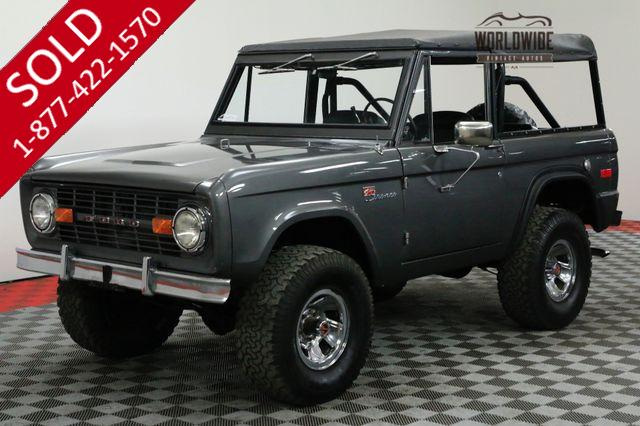 1973 FORD BRONCO HIGH DOLLAR RESTORATION PS PB 4X4 AUTO