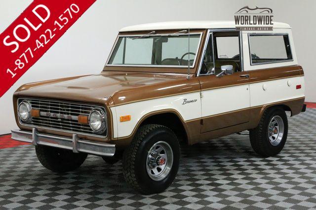 1975 FORD BRONCO RANGER UNCUT 74K ORIGINAL MILES