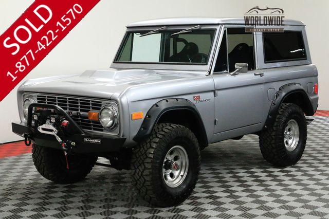 1977 FORD BRONCO RESTORED HIGH DOLLAR BUILD AUTO PS PB