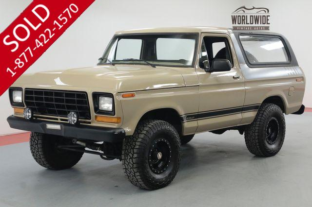 1979 FORD BRONCO RESTORED CONVERTIBLE REBUILT 400 V8 RARE