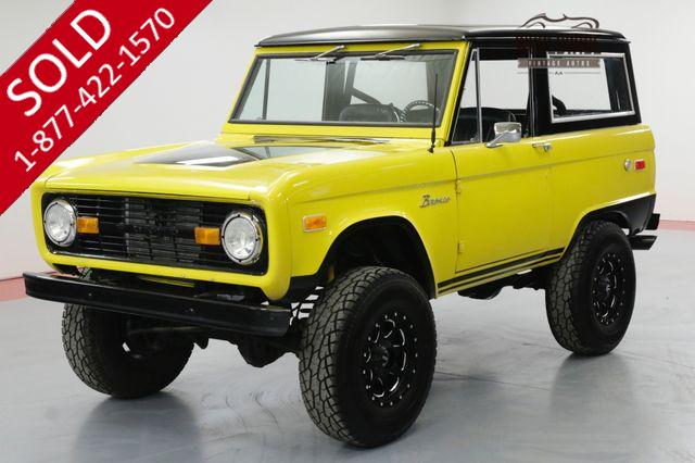 1976 FORD BRONCO FRAME OFF RESTORED UNCUT PS PB AUTO