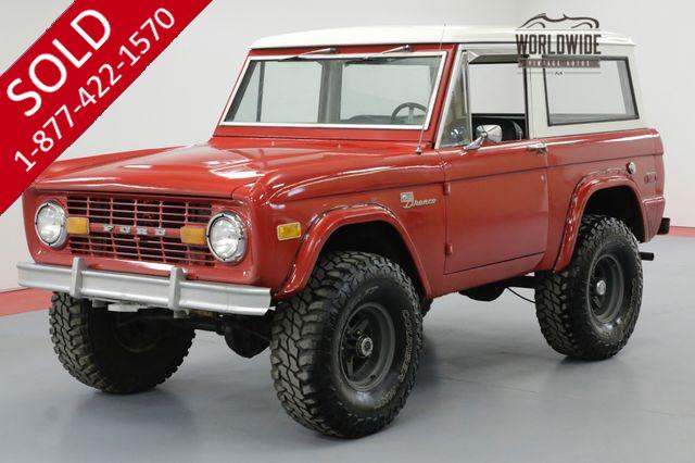 1976 FORD BRONCO SPORT RESTORED 4X4 PS DISC