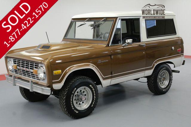 1975 FORD BRONCO UNCUT 302V8 AUTO NEW AND BEAUTIFUL
