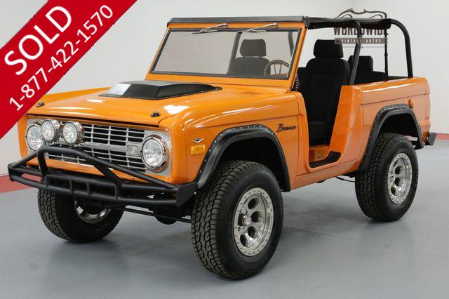 1969 FORD BRONCO RESTORED V8 4X4 FULL TOP AND SEATS