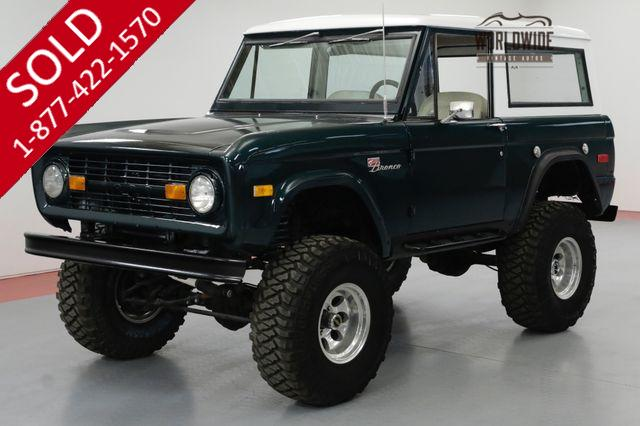 1971 FORD BRONCO 302V8 4BBL CARB 3-SPEED MANUAL 4X4  SOLD PRE VIP