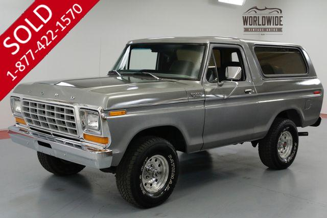 1979 FORD BRONCO RESTORED. V8. AUTO. 4X4. REMOVABLE HARD TOP.