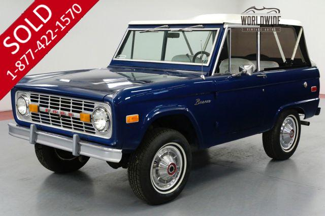 1976 FORD BRONCO UNCUT 4x4 AUTO 302 V8. PS. POWER DISC BRAKES