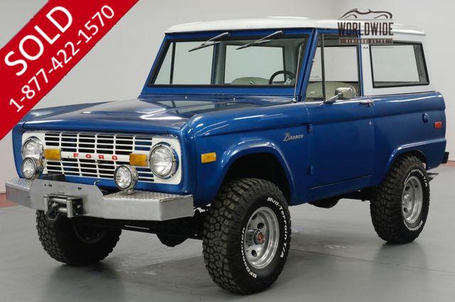 1972 FORD BRONCO UNCUT! RESTORED. 302 V8. WINCH. 4x4.