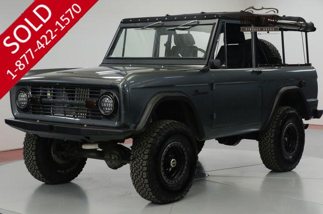 1972 FORD  BRONCO FRAME OFF RESTORED. AC! PB! PS 600 MILES