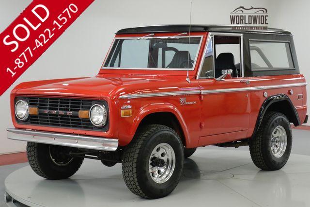 1970 FORD  BRONCO  SPORT. RESTORED. 4x4. NEW 302 V8! HARDTOP.