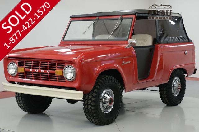 1972 FORD  BRONCO 302 V8! UPGRADES NEW PAINT NEW TIRES
