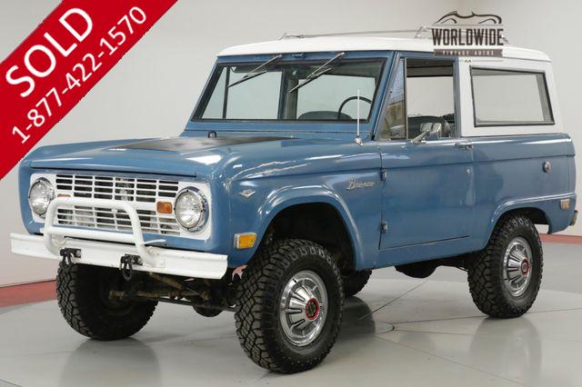 1968 FORD BRONCO FACTORY ORIGINAL TIME CAPSULE # MATCHING 4x4