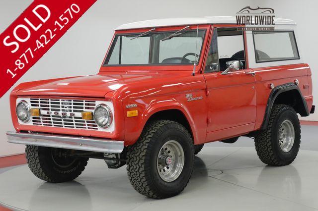 1979 FORD BRONCO  RESTORED. 5K MILES. 351 V8. LIFT. STUNNING