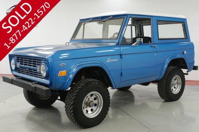 1968 FORD  BRONCO 4x4 V8 MANUAL DRY AZ DESERT SUV CONVERTIBLE