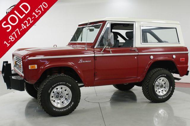 1972 FORD BRONCO 4x4 302 V8