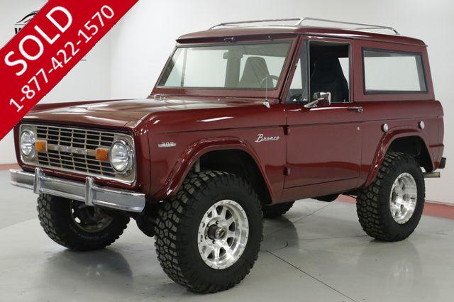 1969 FORD  BRONCO RESTORED 4x4 302 V8 PS. PB. HARDTOP (VIP)