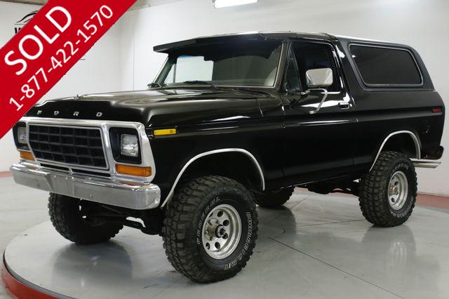 1979 FORD BRONCO 400M C6 AUTO 4X4 LIFTED PS PB