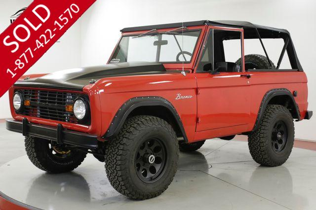 1967 FORD  BRONCO  RESTORED 408 STROKER CRATE VINTAGE AC PS