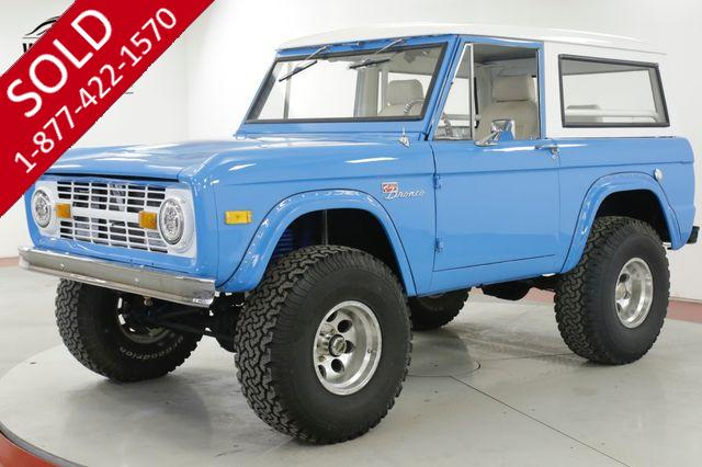 1967 FORD  BRONCO RESTORED V8 PS PB DISC 4x4! 4K MILES MUST SEE