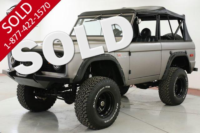 1967 FORD BRONCO FRAME OFF RESTORED SUPERCHARGED 302! WINCH