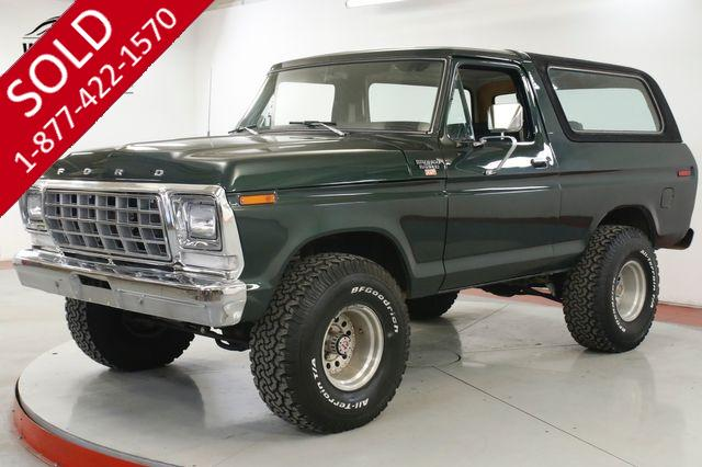 1979 FORD BRONCO 460V8 AUTOMATIC PS PB 4X4 LIFTED