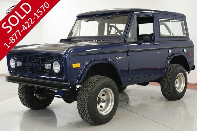 1972 FORD  BRONCO  V8! 4x4 PS PB REMOVABLE HARD TOP LIFT