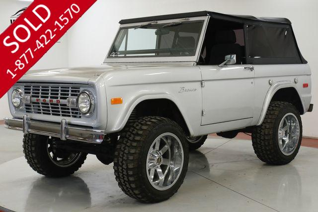 1974 FORD BRONCO RESTORED CUSTOM AC 302 V8 AUTO PS PB LIFT