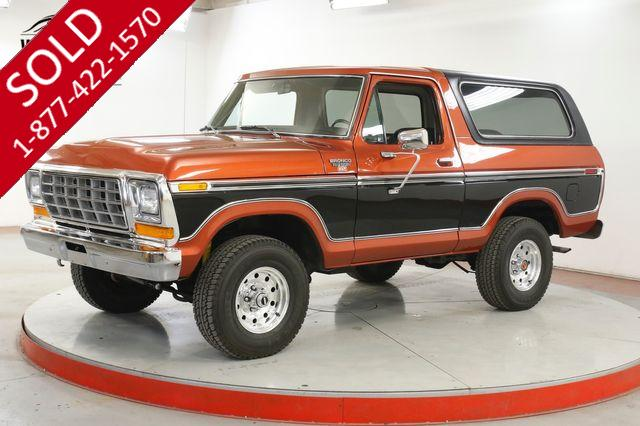 1979 FORD BRONCO 4X4. RARE MODEL. V8. COLLECTOR GRADE. CLEAN