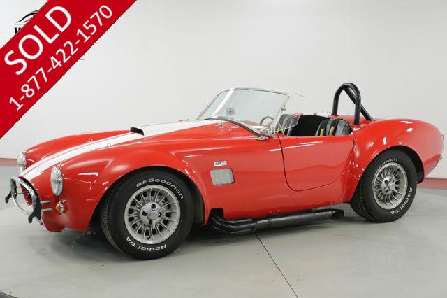1968 FORD  COBRA KIT  FACTORY FIVE SHELBY AC 5 SPEED V8 MUST SEE