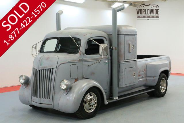 1945 FORD COE CABOVER CUSTOM BUILD V8 PS PB SLEEPER