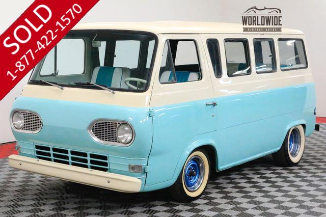 1962 FORD ECONOLINE RARE SEATS 7 INLINE 6 CYL. 3-SPEED MANUAL