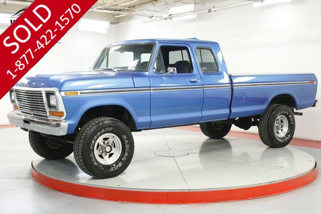 1978 FORD F-250 EXT CAB RARE EXTENDED 460 V8 AUTOMATIC 4X4 PS PB AC