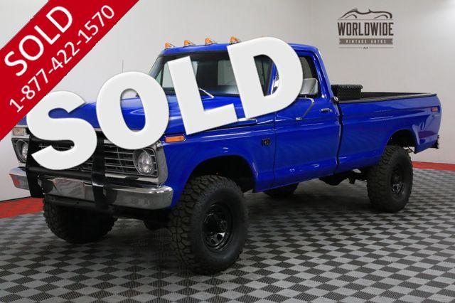 1975 FORD F-250 HIGH BOY RESTORED 360 V8 4X4 SHOW OR GO