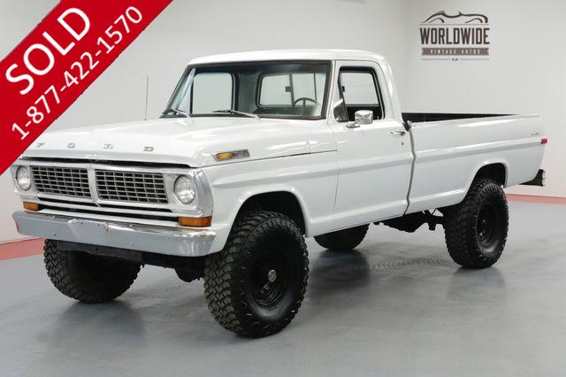 1970 FORD F-250 HIGHBOY. RESTORED 4X4 3K MILES