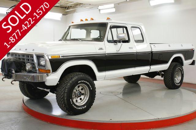 1979 FORD F-250 LARIAT 460 RARE EXTENDED CAB PS PB