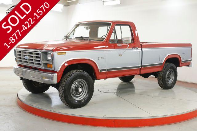 1983 FORD F-250 460 BIG BLOCK V8 4X4 4-SPEED PS PB