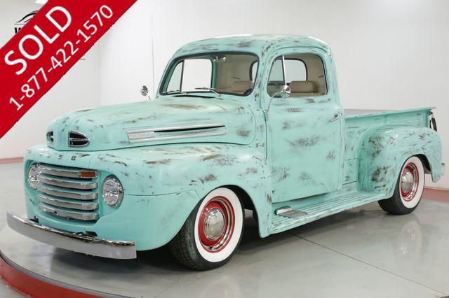 1950 FORD F100 RESTOMOD TRUCK 302 V8 PS PB VINTAGE AC