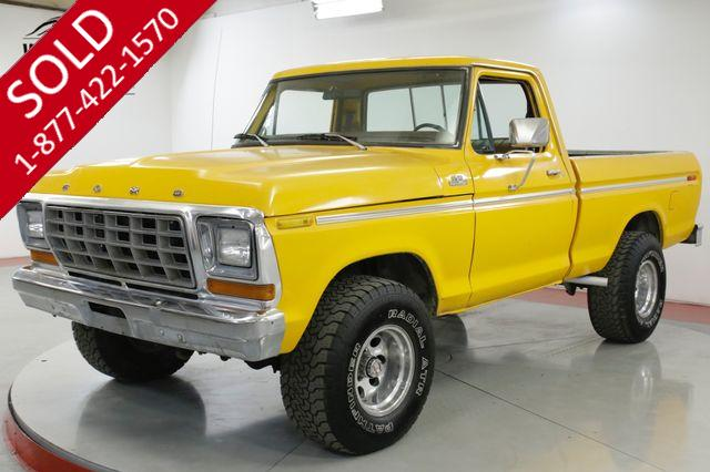 1978 FORD  F150 4x4 COLLECTOR SHORT BED TIME CAPSULE V8! AC