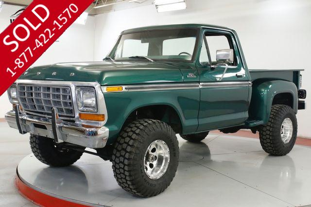 1979 FORD  F150 FRAME OFF RESTORED 4x4 COLD AC V8 PS PB